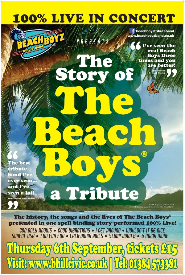 **Win Tickets To The Beach Boys Story!**