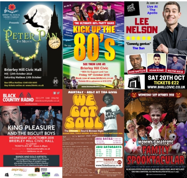 **Something For Everyone, This October at The Civic**