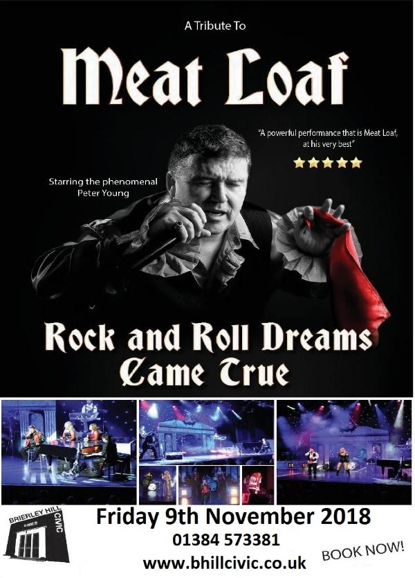 **2 for 1 tickets for this Friday's Meat Loaf Show!**