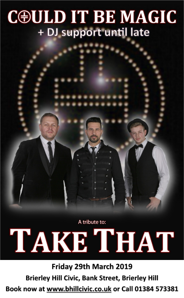 **Win Tickets To Our Take That Tribute + DJ Support Until Late This Friday Night!**