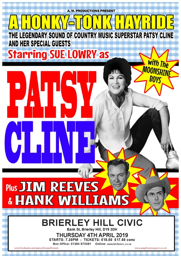 **Patsy Cline & Friends  Show Tomorrow Night!**