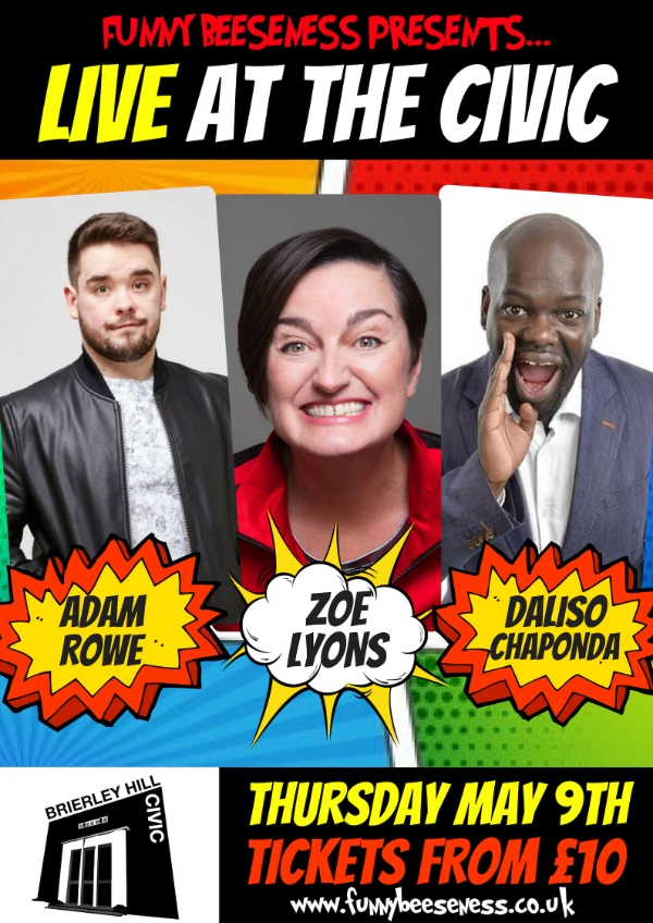 **Amazing Comedy Line Up from only £10 Per ticket!**