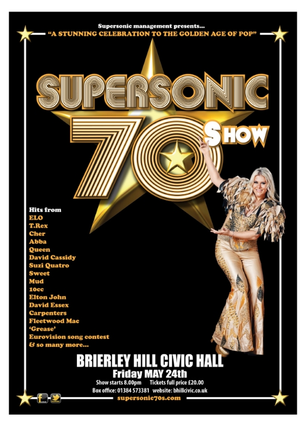 **Win Tickets To Our 'SuperSonic 70's' Show**