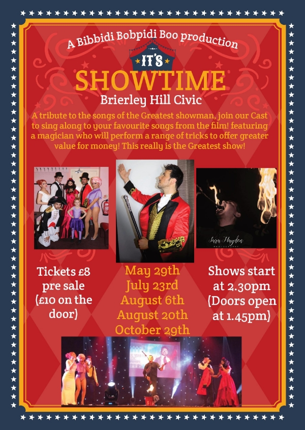 **Win Tickets to our 'Showtime! - A Tribute to the Greatest Showman'**