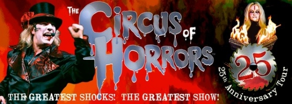 **Circus Of Horrors 25th Anniversary Show - Half Price Tickets To Civic Email Subscribers!**