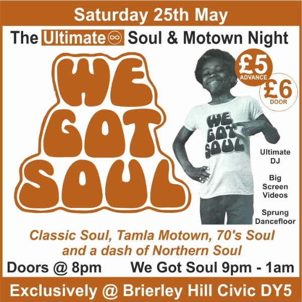 **Win Tickets to The Best Soul & Motown Night Around!**