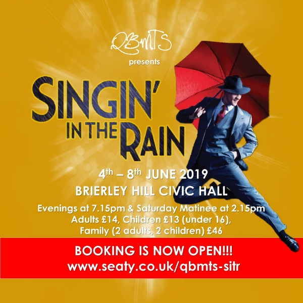 **Win Tickets To see 'Singin In The Rain'