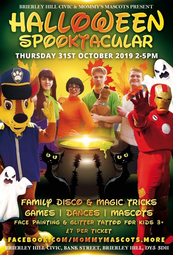 **Kids Halloween Party!** Discounted Tickets For Civic Subscribers.**