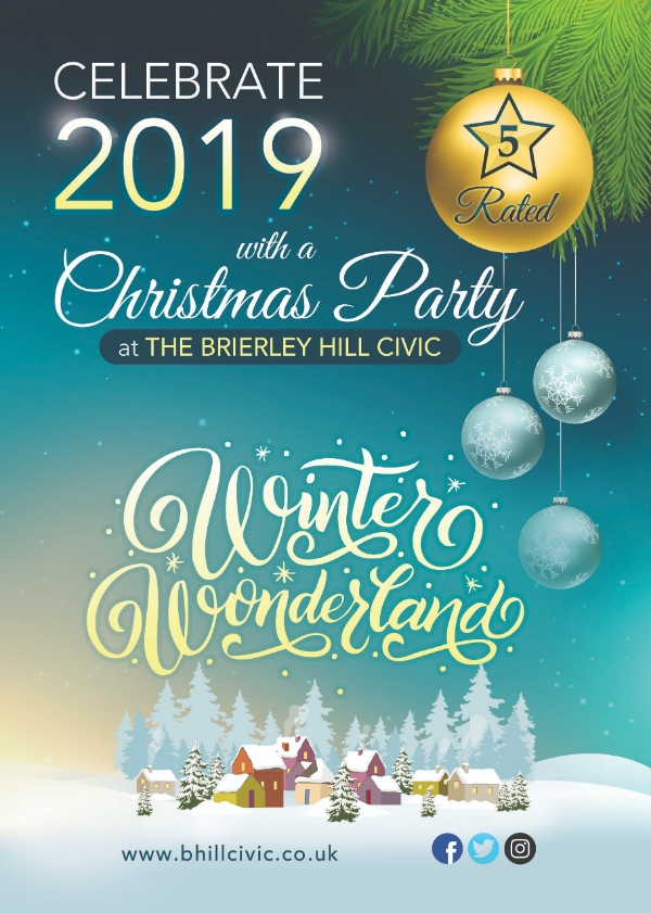 **2019 Christmas Parties  - 50% Now Sold**