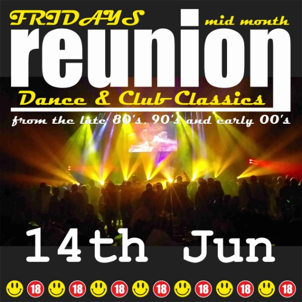 **Win Tickets To ReUnion This Friday Night!**