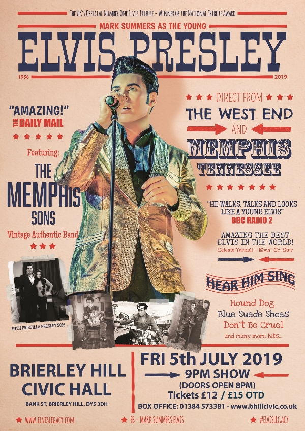 **Win Tickets To See Our Amazing Elvis Tribute This Friday Night!**