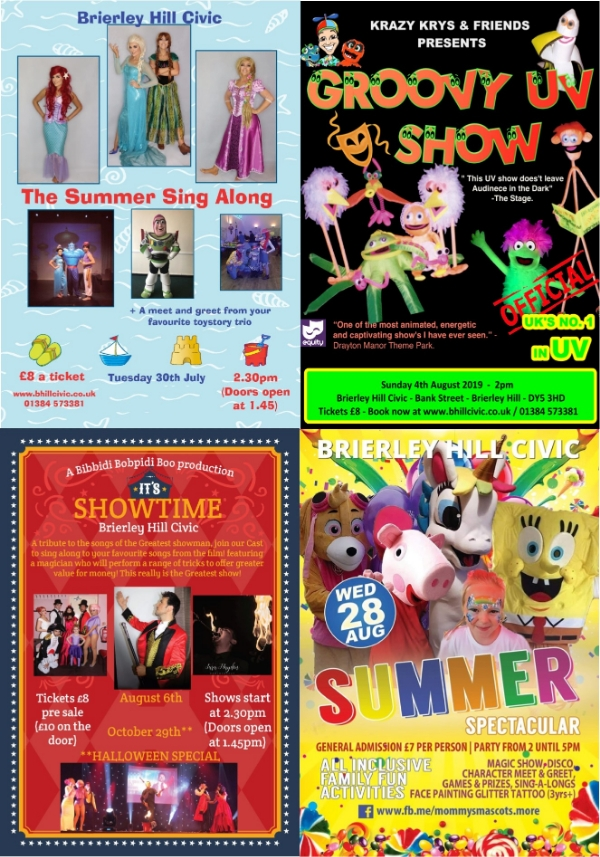 **Family Events @ The Civic This Summer**