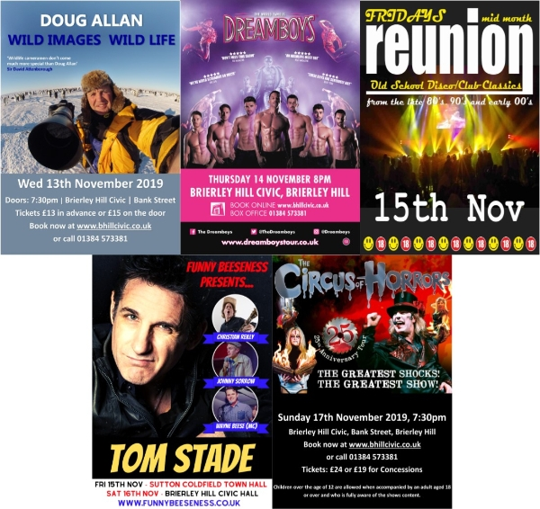 ** 5 Fantastic Events This Week At The Civic**