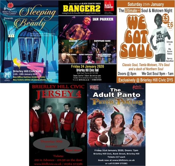 **5 Fantastic Events Coming Your Way This January!**