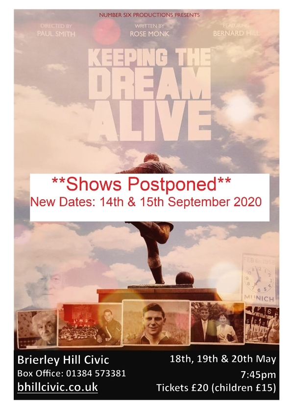 **Keeping The Dream Alive - Postponed - New Dates: 14th & 15th September 2020**