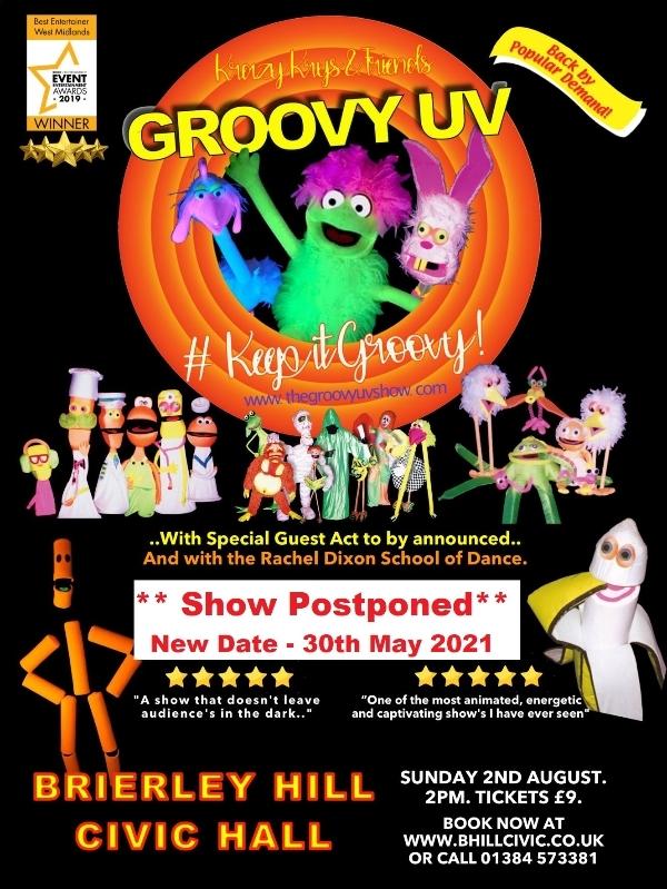 **The Groovy UV Show - Postponed**