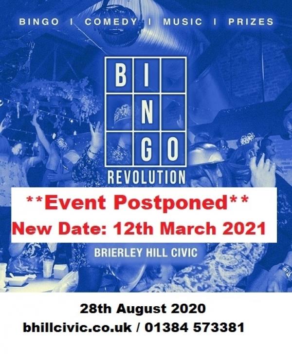 **Bingo Revolution- Postponed**