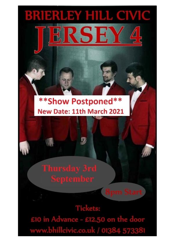 **Jersey4 Show Postponed**