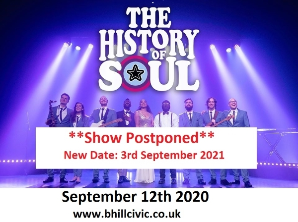 **The History Of Soul Show - Postponed**