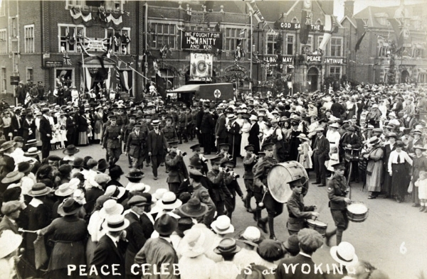 War and peace in Surrey: 1914 - 1919