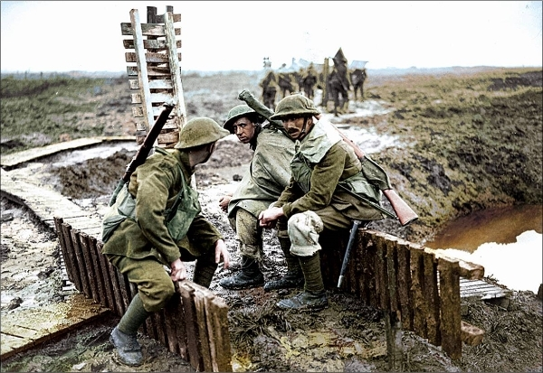 'Mad with Fright': Trench Warfare and British Perceptions of Courage during the First World War