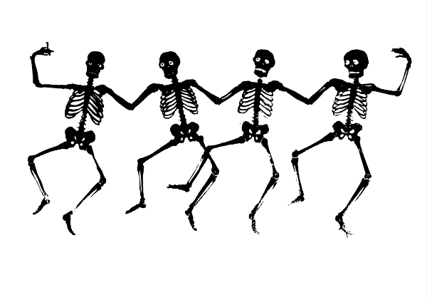 Surrey's Spooky Skeletons - free arts and craft drop in activities!