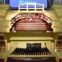Wonderful Woking Wurlitzer logo