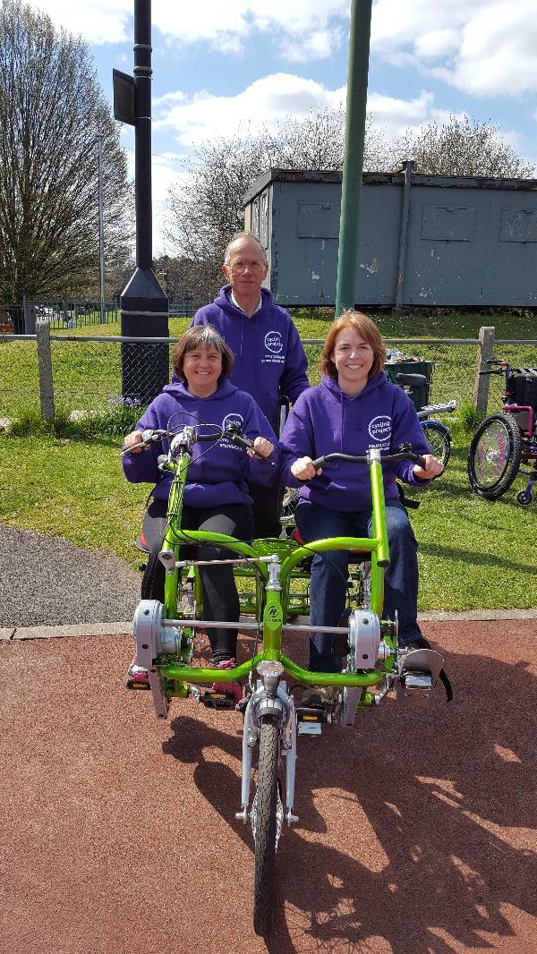 Surrey Wheels for All - Volunteers needed