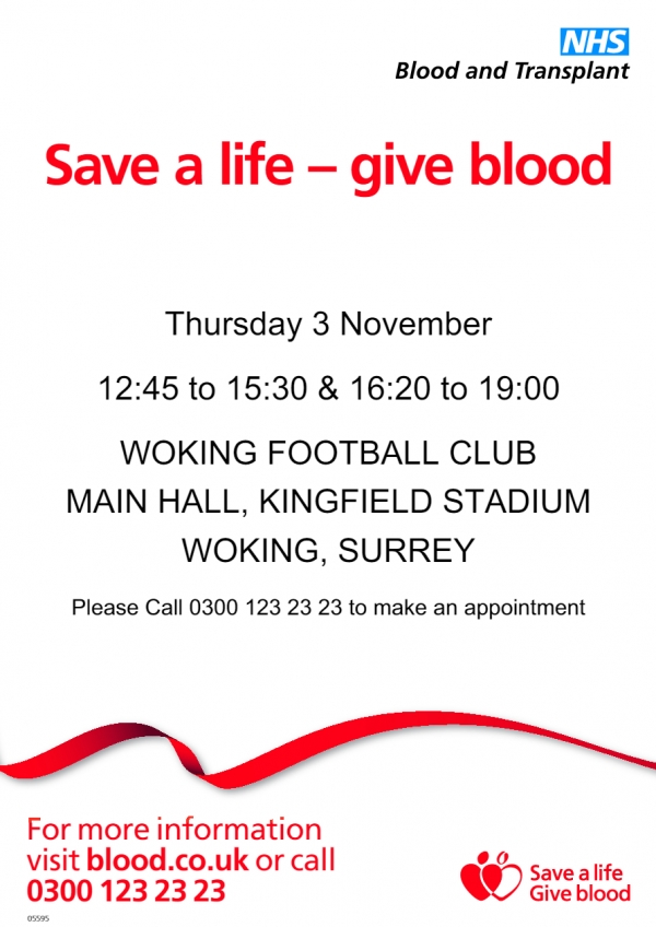 SAVE A LIFE -GIVE BLOOD