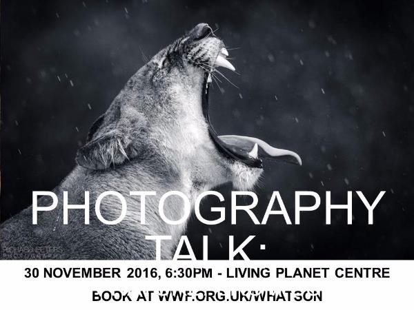 Photography talk at WWF