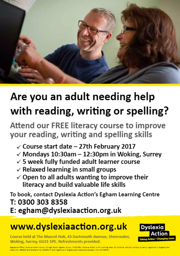 Free Literacy Course