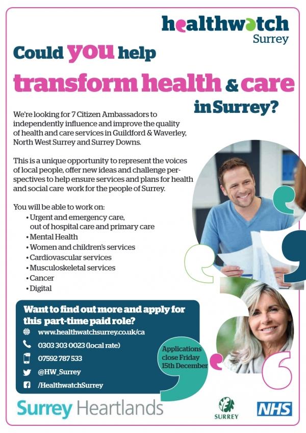 Healthwatch Surrey
