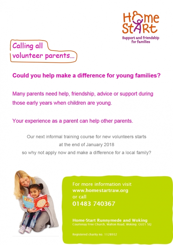 Calling all Volunteer Parents