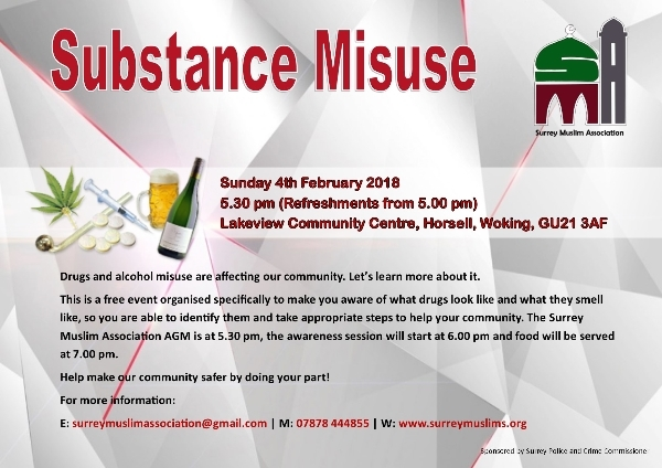 Substance Misuse - Learn more about it.