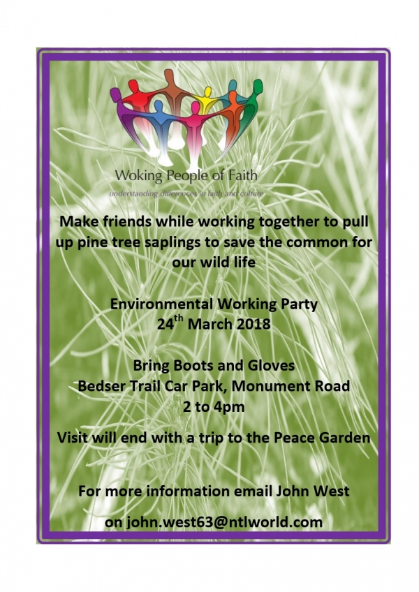 Environmental working party 24th March 2018