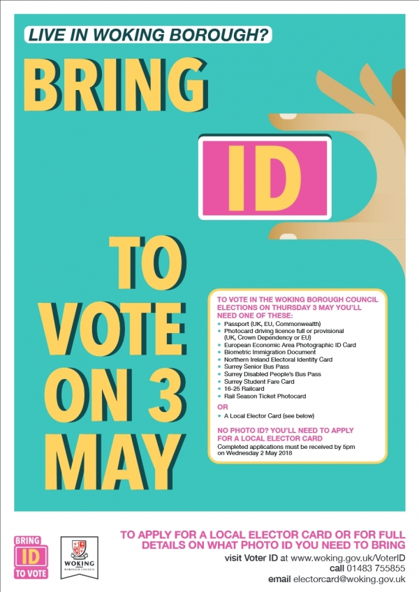 No ID, NO VOTE. Please spread the word for us.