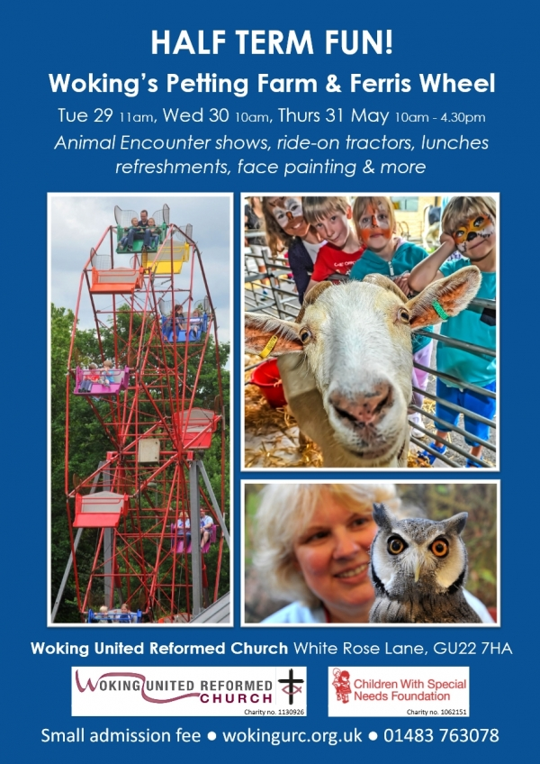 Petting Farm at Woking United Reformed Church