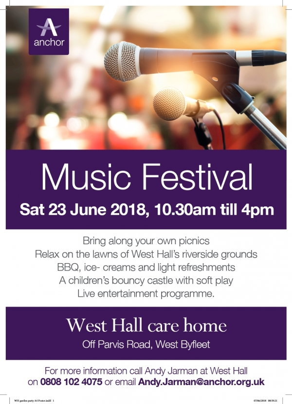 Music Festival at West Hall Care Home
