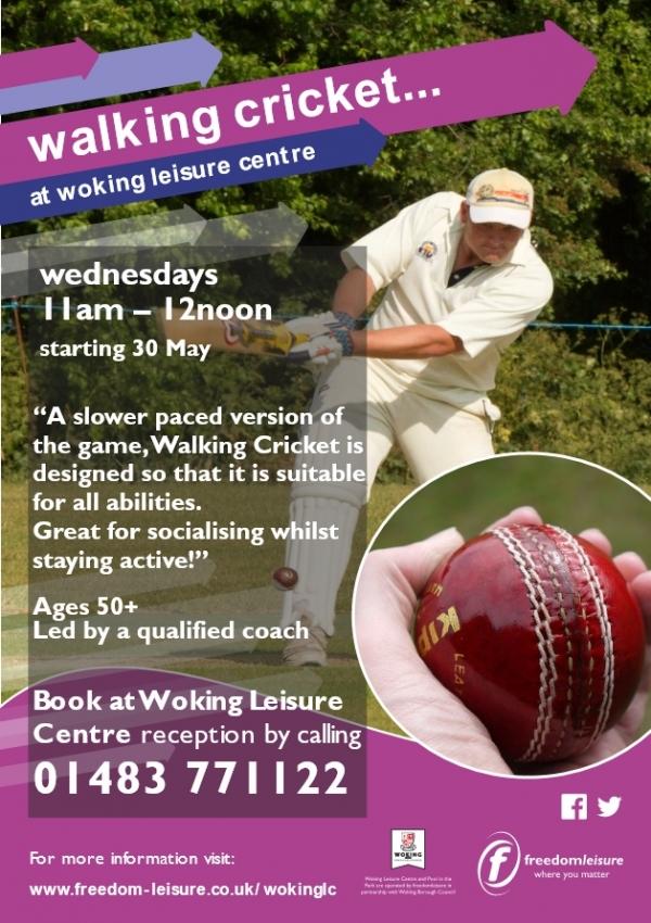 Walking Cricket in Woking