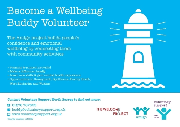 Become a Wellbeing Buddy