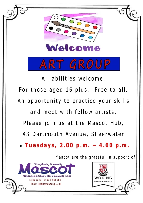 Art Group at MASCOT Hub