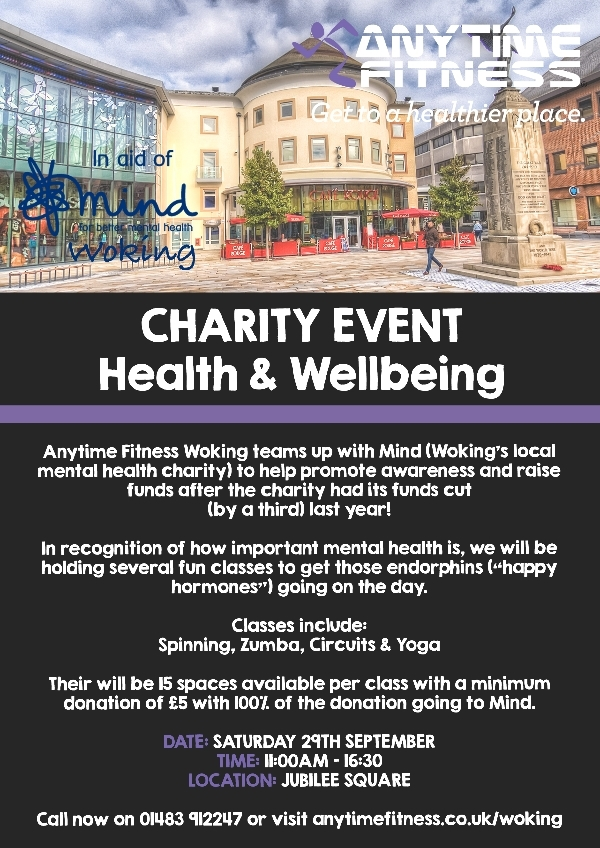 Charity Event - Health and Wellbeing