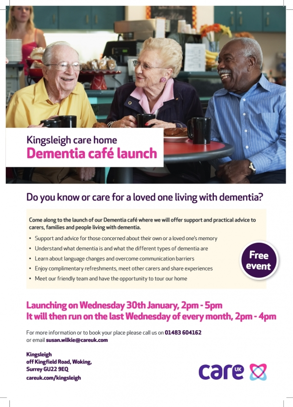 Dementia Cafe launched