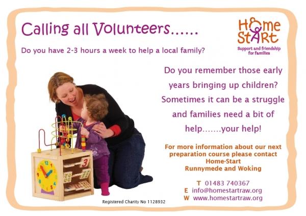 Calling Volunteers
