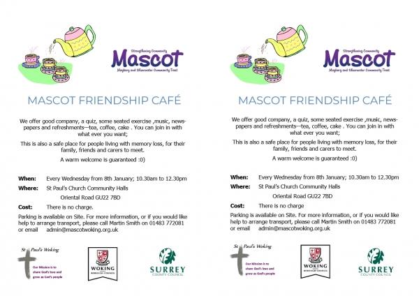 MASCOT FRIENDSHIP CAFE