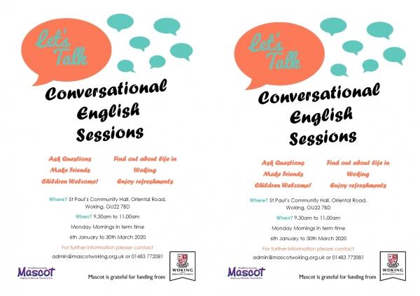 Conversational English Lessons. - Let's Talk