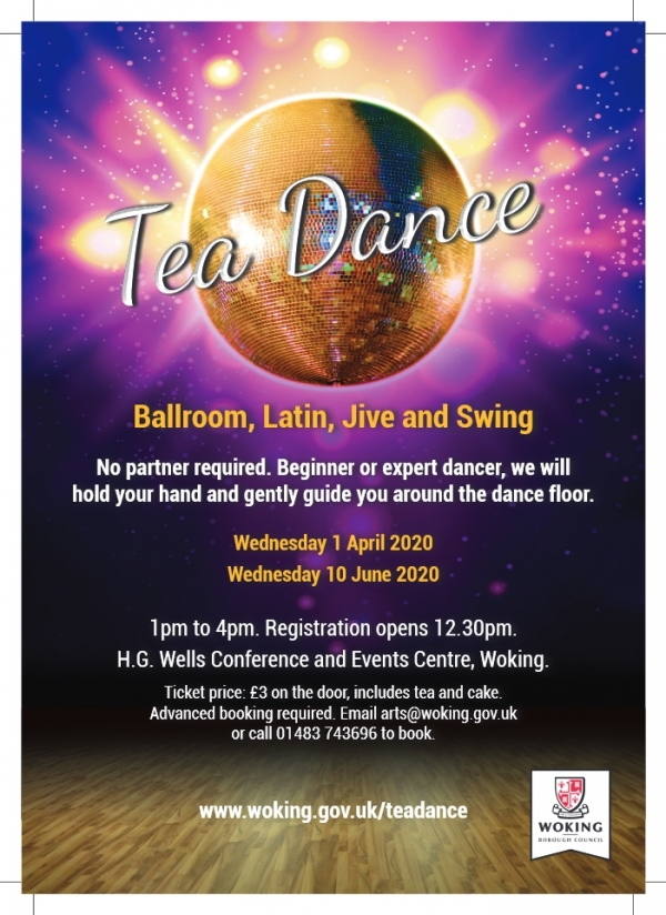 Come and join us - TEA DANCE