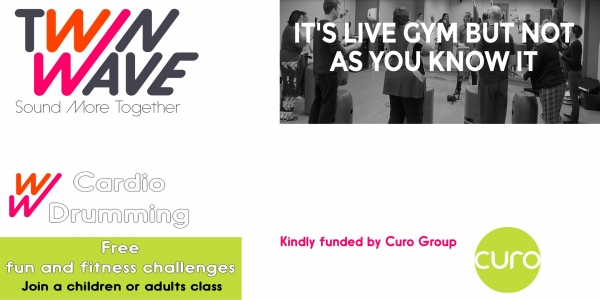 FREE Adults Cardio Drumming in Combe Down