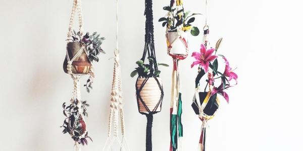 Make Your Own Macramé Plant Hanger