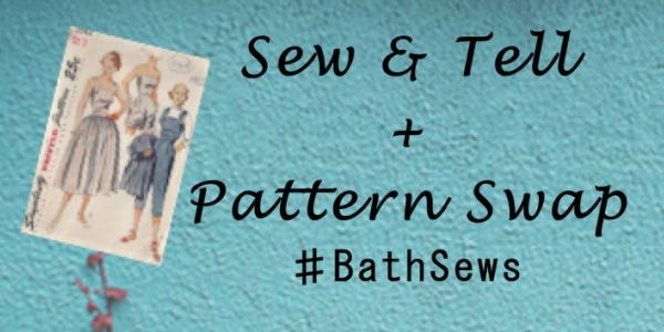 Bath Sews meet up - sew and tell and pattern swap